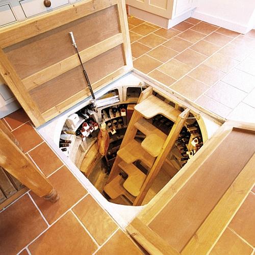 Hoe cool kan een wijnkelder zijn by dailybits - Idea per la casa ...