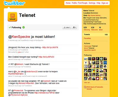 Telenet online reputation management