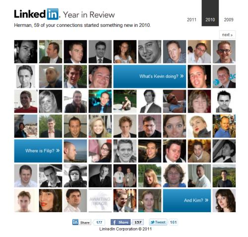 linkedin year in review