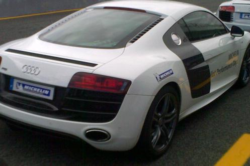 Michelin Pilot Performance days audi r8 v10