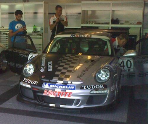 Michelin Pilot Performance days Porsche supercup