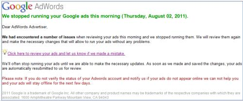 adwords Phishing