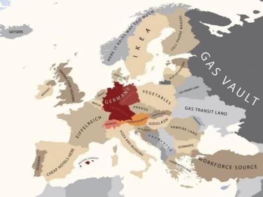 Europe by Germany