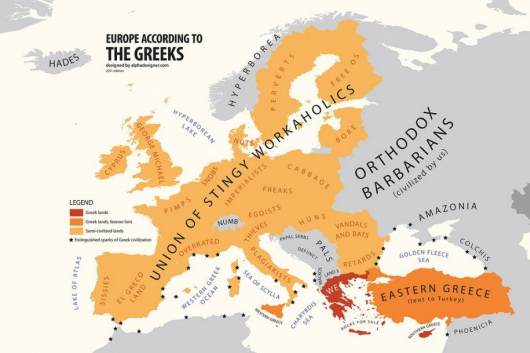 Europe by Greece