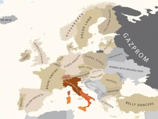 Europe by Italy