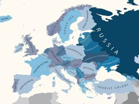 Europe by Russia