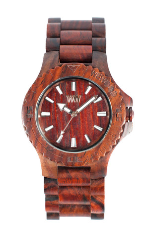 wewood houten horloge brown data