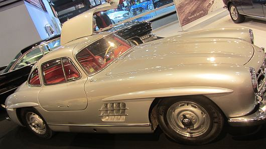 autosalon mercedes classic car