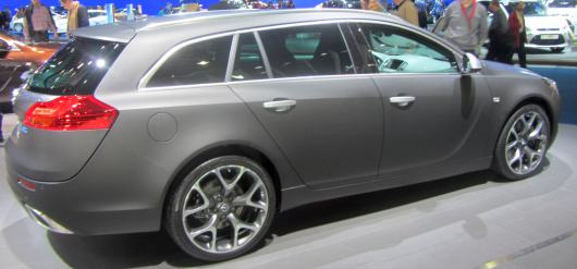 autosalon opel insignia break GTC