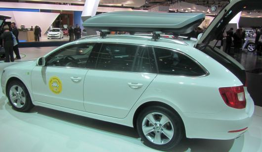 autosalon skoda superb break