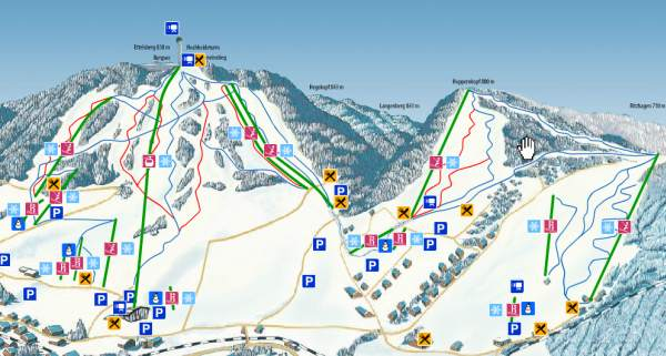 willingen skimap