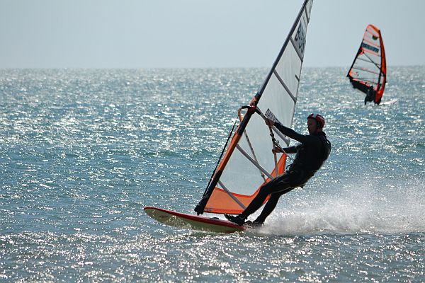 Herman Maes windsurf