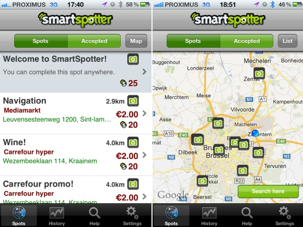 smartspotter app review