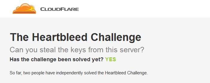 heartbleed challenge