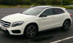 Mercedes GLA 4matic AMG line