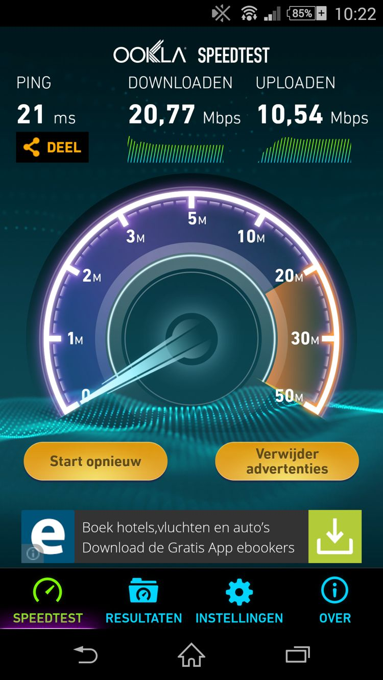 wifi test telenet