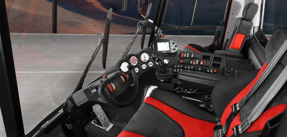 pistenbully / dameuse cockpit