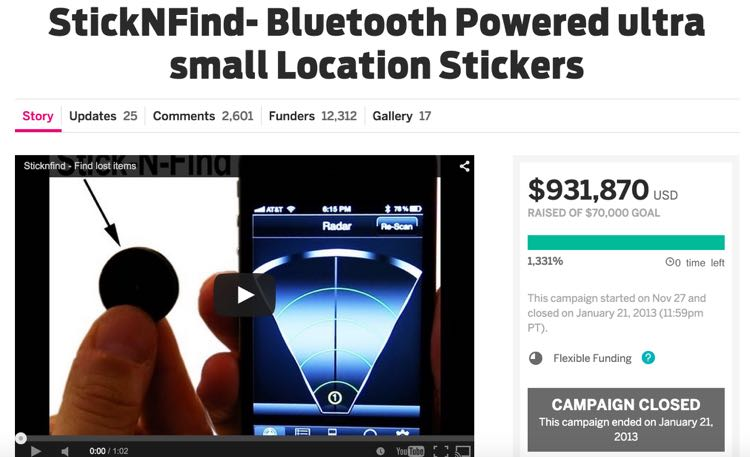 StickNFind-_Bluetooth_Powered_ultra_small_Location_Stickers___Indiegogo