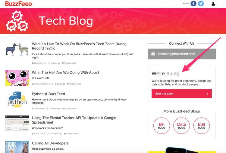techblog buzzfeed