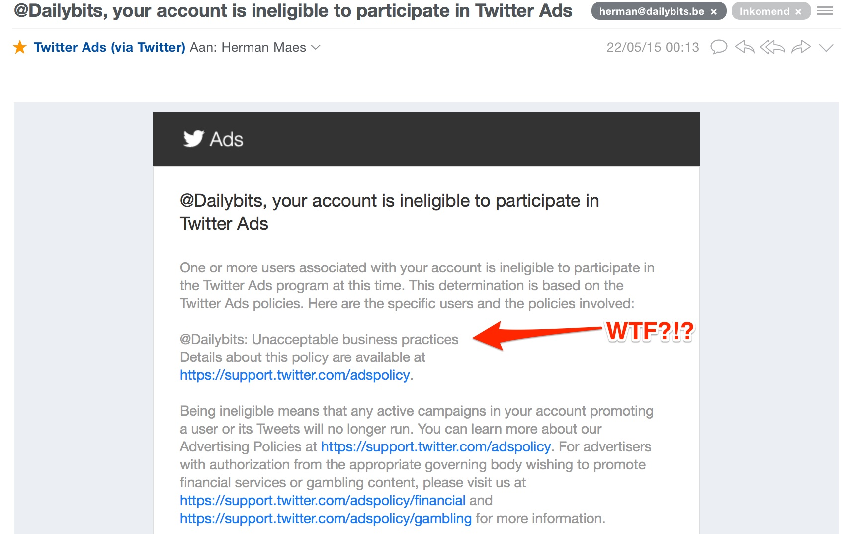 your_account_is_ineligible_to_participate_in_Twitter_Ads