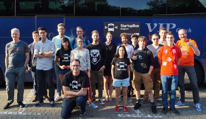startupbus belgium