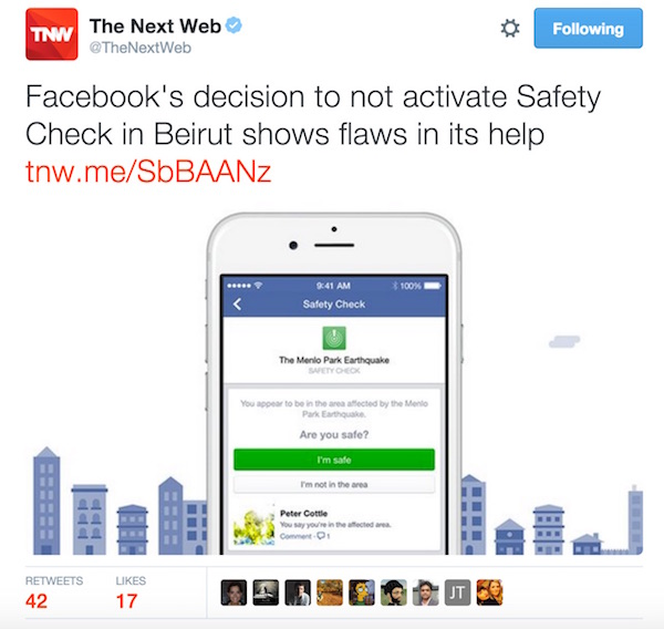 the next web facebook safety check