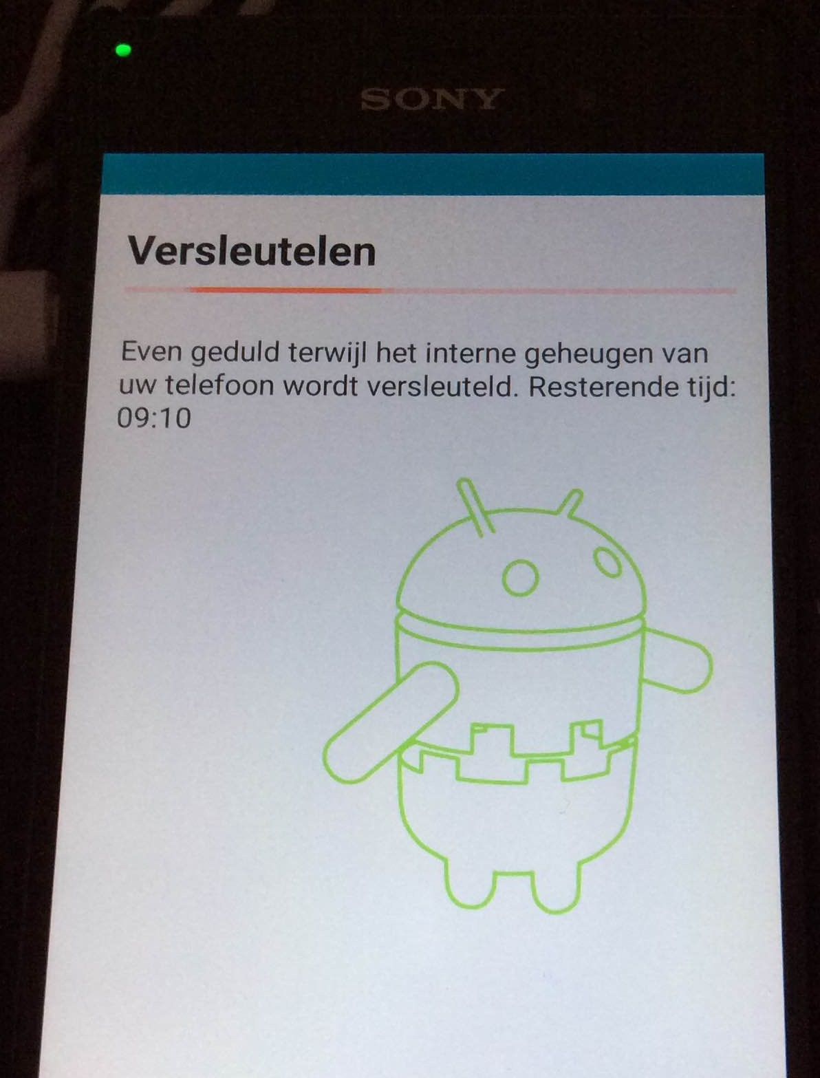 android encrypteren