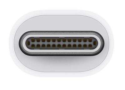 USB-C standaard Apple