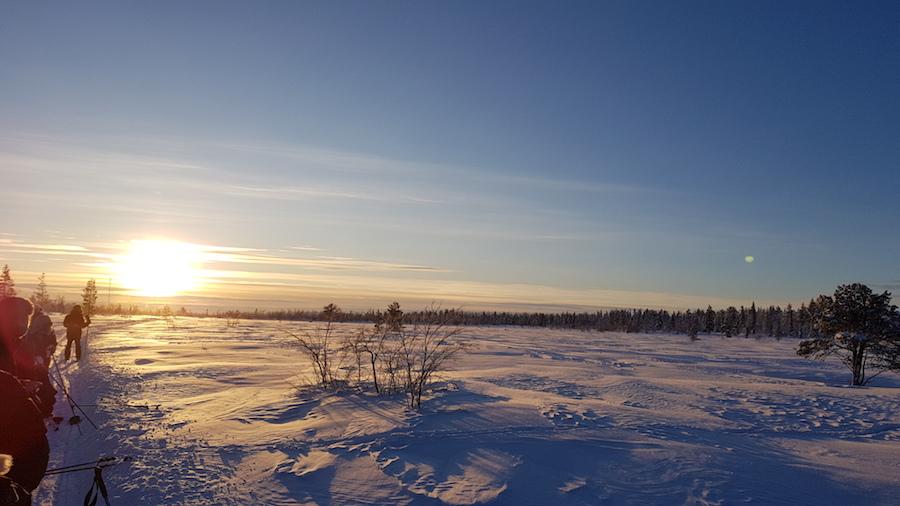 reisverhaal lapland winter