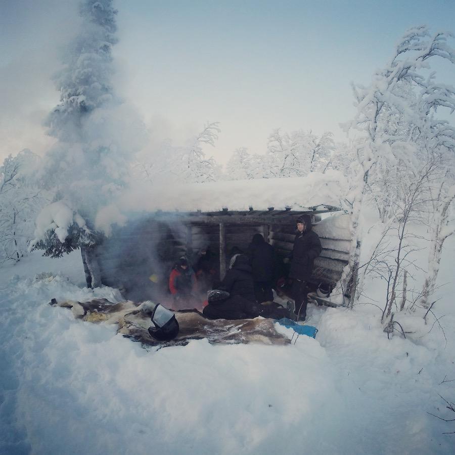reisverhaal lapland sneeuwscooter