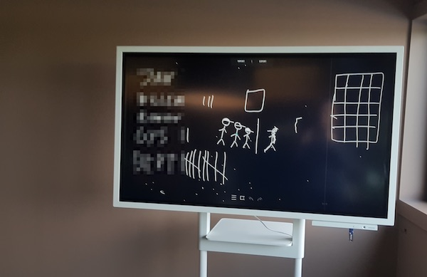samsung flip review digital whiteboard