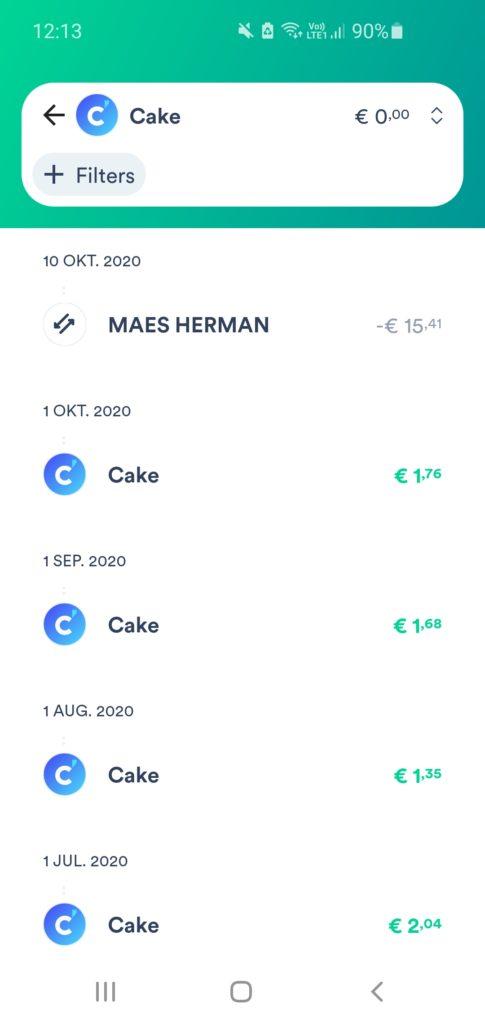 cake geld verdienen